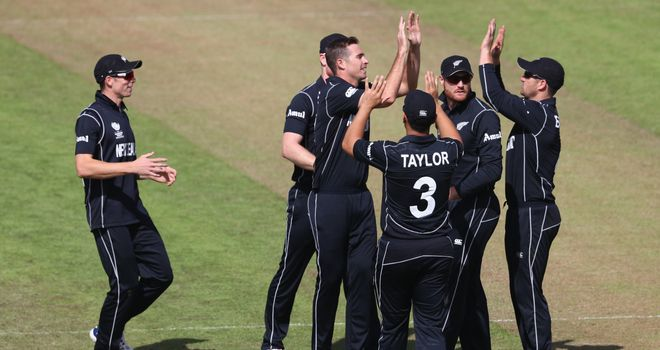 Tim Southee has taken four wickets against India in this series so far