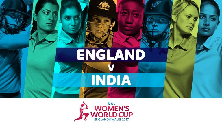 England take on India in the ICC Women's World Cup