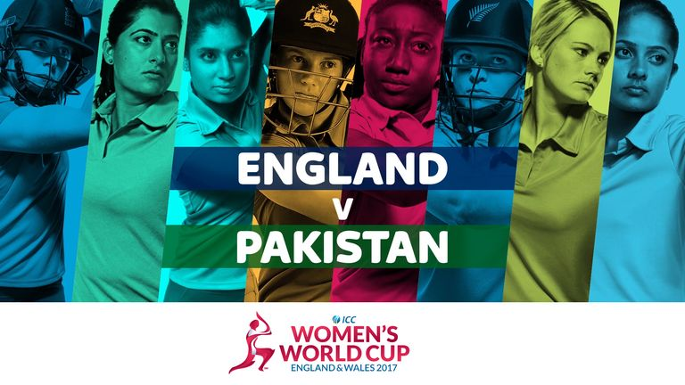 England take on Pakistan in the ICC Women's World Cup