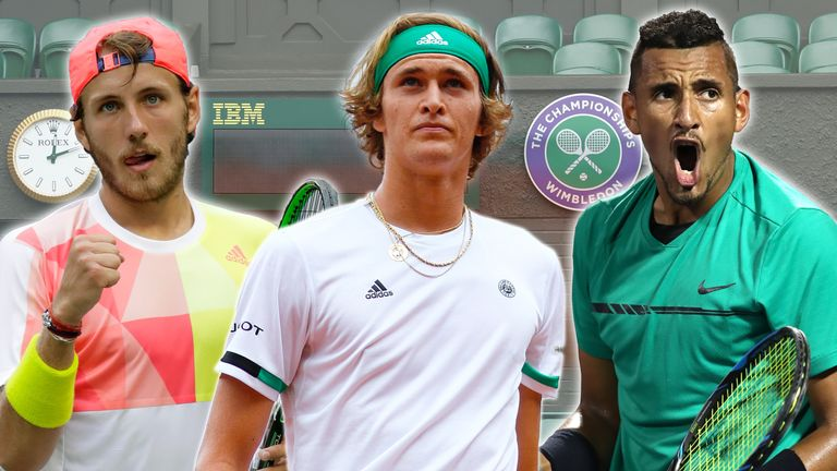 Five Wimbeldon outsiders - including Lucas Pouille, Alexander Zverev and Nick Kyrgios