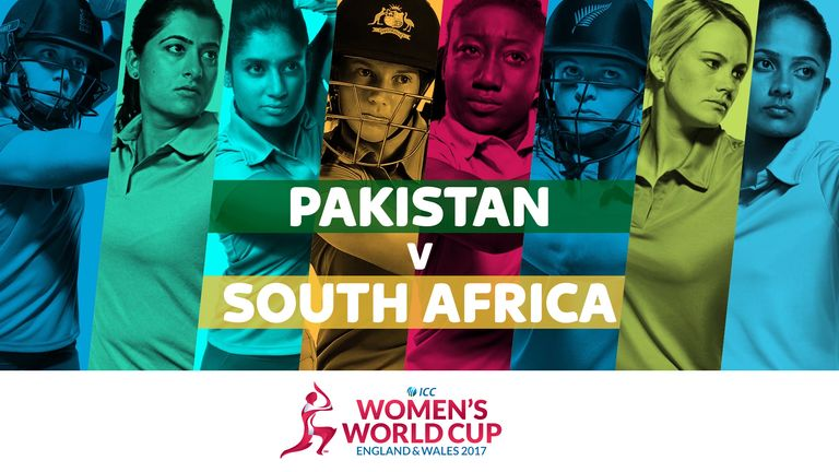 Pakistan take on South Africa in the ICC Women's World Cup