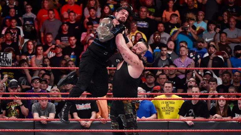 Braun Strowman returned to make a huge statement and challenge Roman Reigns at Great Balls of Fire.