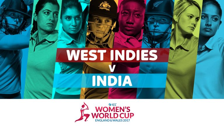 West Indies take on India in the ICC Women's World Cup