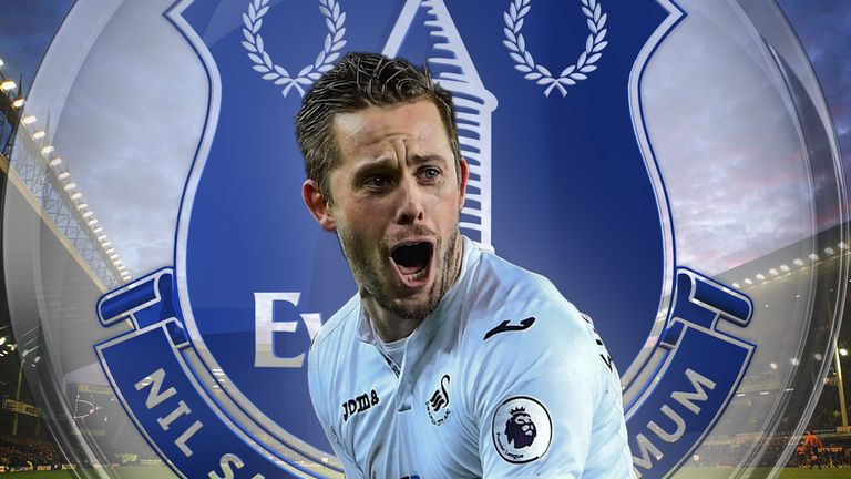 Swansea not budging on £50m valuation of Everton target Gylfi Sigurdsson