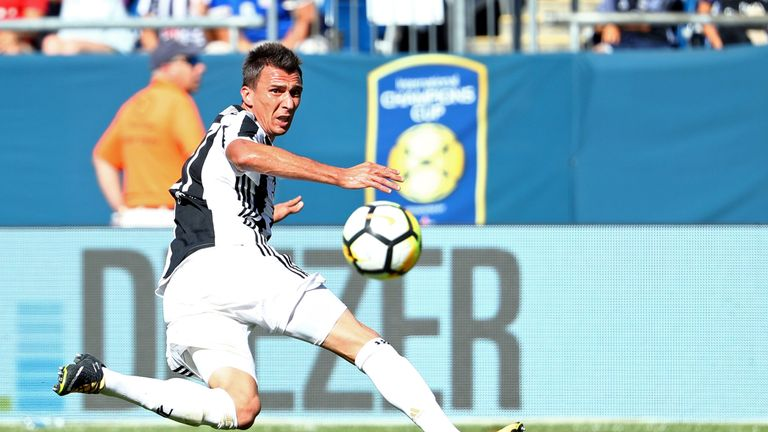 Mario Mandzukic scored Juventus' opener