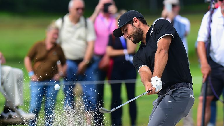 Defending champion Alexander Levy finished tied with Smith on 13 under