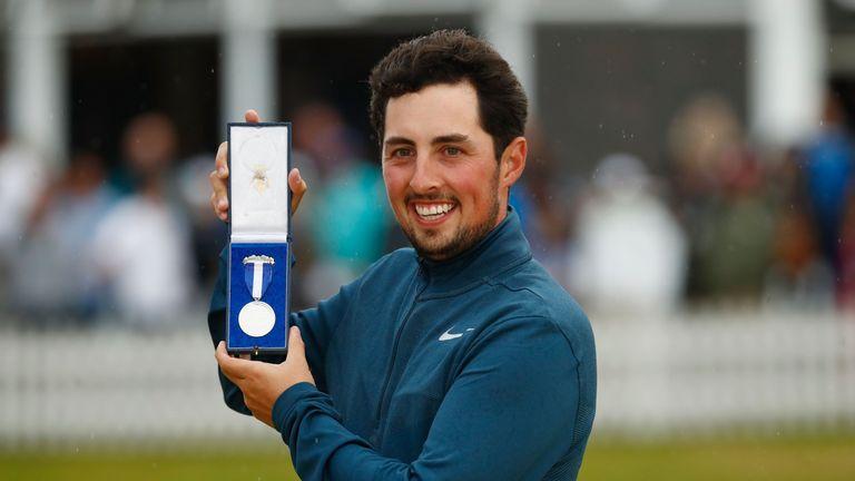Amateur Alfie Plant secured the Silver Medal at Royal Birkdale