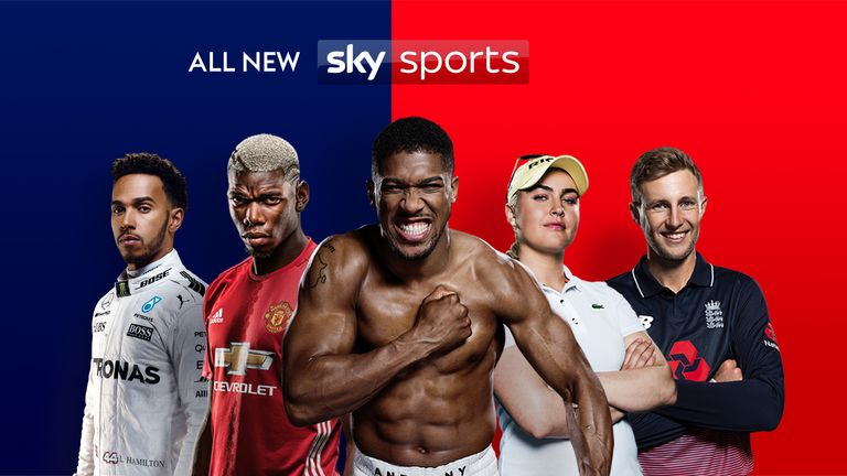 There's a host of great live sport and programmes on the new-look Sky Sports channels