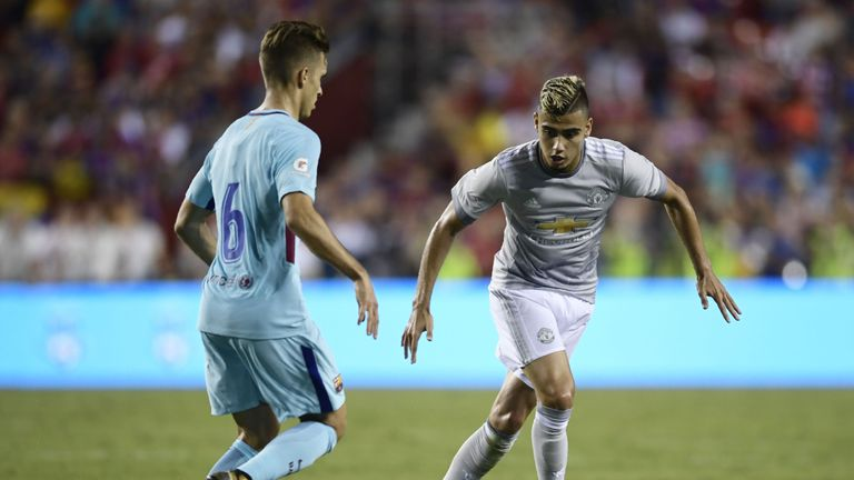 Andreas Pereira hoping to convince Jose Mourinho he deserves Manchester United chance