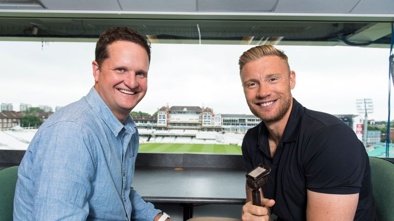 Flintoff had to call a last-ball thriller on his first commentary stint