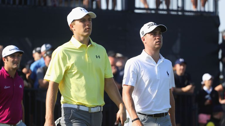 Jordan Spieth and Justin Thomas are the leading two in the FedExCup standings