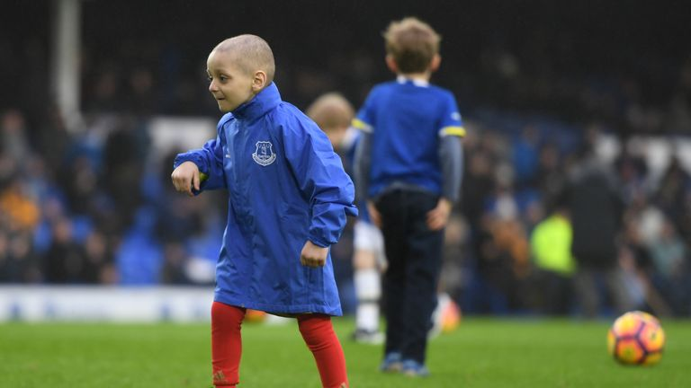 Everton to host charity match in memory of Bradley Lowery