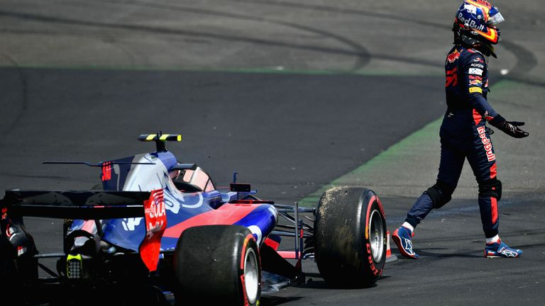 Daniil Kvyat three points away from F1 race ban