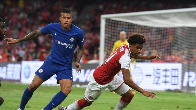 Talks are underway between Newcastle and Chelsea over a loan move for Kenedy