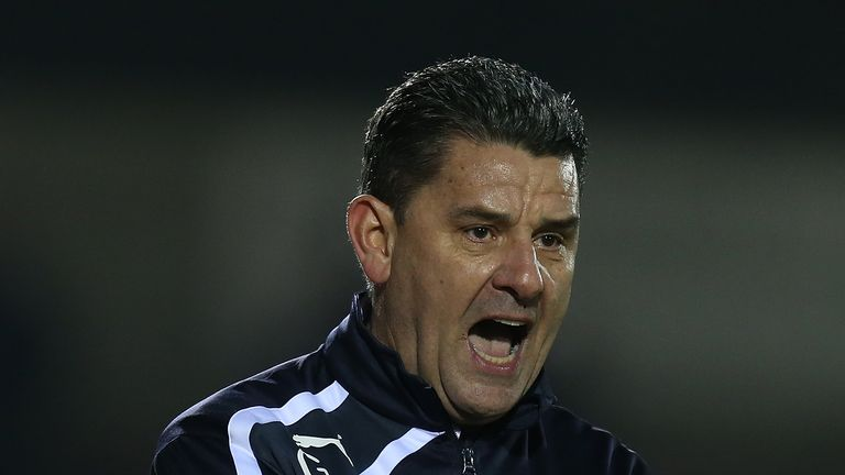 John Gregory's last managerial job in England was at Crawley Town