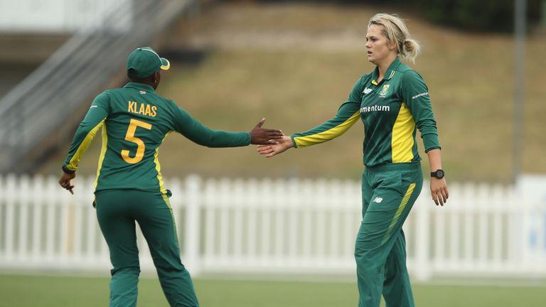 Dane van Niekerk impressed with bat and ball as South Africa beat India