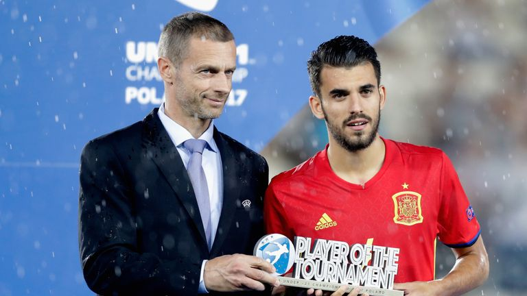 Real Betis confirm Dani Ceballos has agreed to join Real Madrid