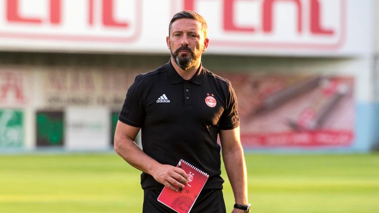 McInnes is in charge at Aberdeen