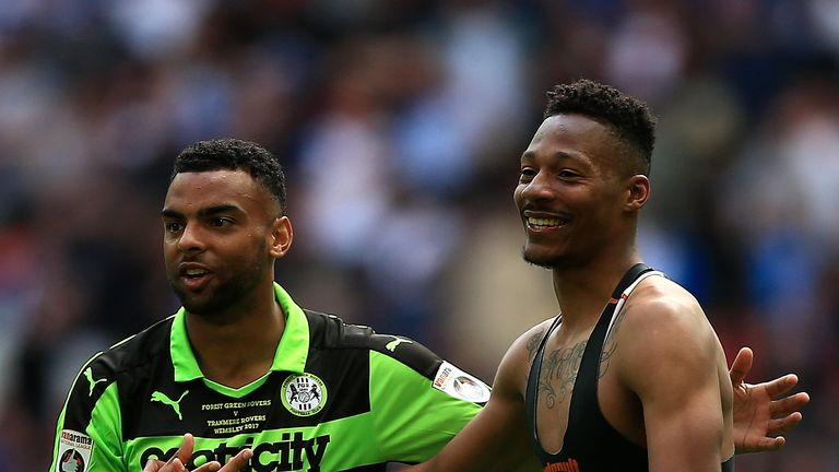 Ethan Pinnock was part of Forest Green's promotion side last season
