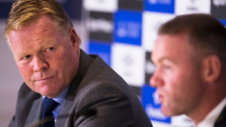 Ronald Koeman is looking ahead to his second season at Everton