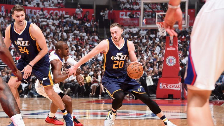 Gordon Hayward will leave the Jazz after seven seasons with the franchise