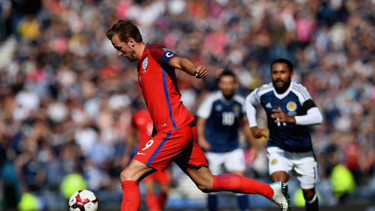 Harry Kane is a leading contender to captain England