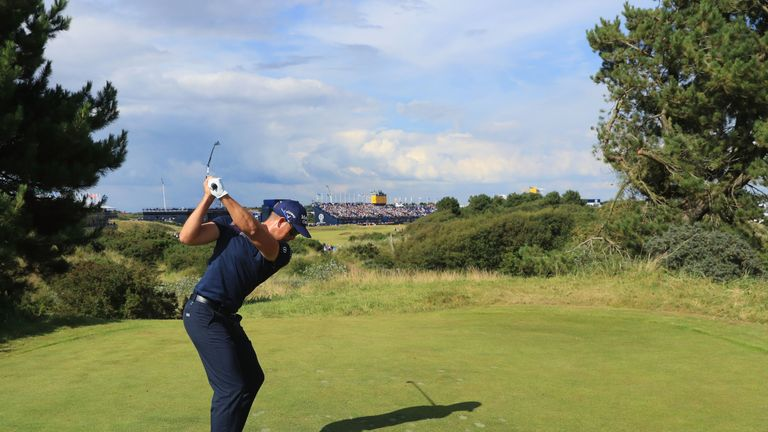 Henrik Stenson is a big fan of the bunkers at Royal Birkdale