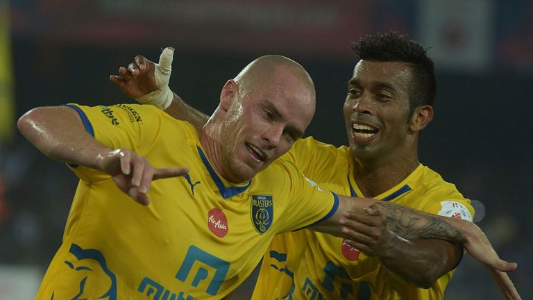 Hume won Hero of the League award at Kerala Blasters