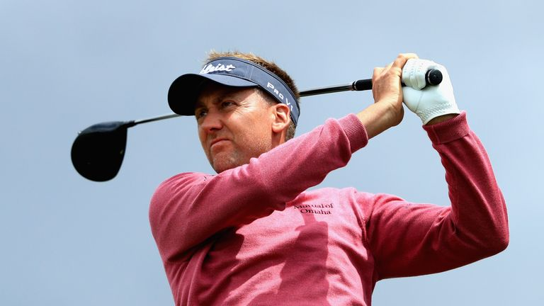 Ian Poulter is an early starter with Russell Knox and Alex Noren
