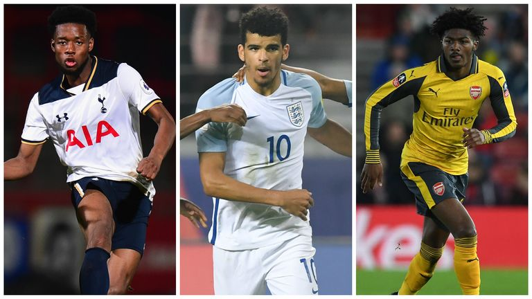 Josh Onomah, Dominic Solanke and Ainsley Maitland-Niles could all breakthrough