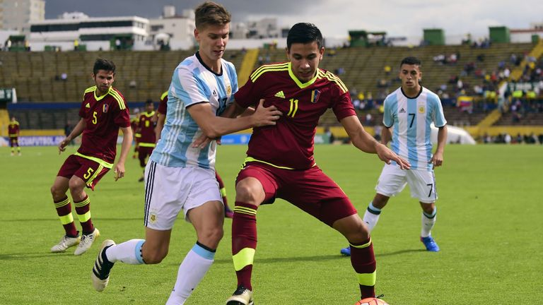 Juan Foyth is a promising Argentina U20 international who plays at centre-back