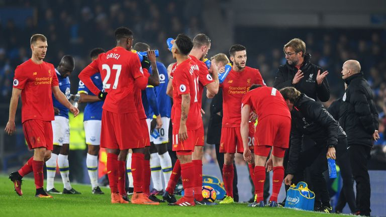 Liverpool playmaker Adam Lallana ruled out for two months with thigh injury