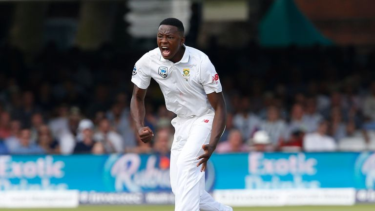 South Africa's Rabada banned from second England Test