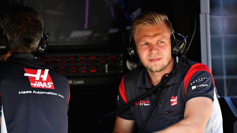 Unwell Magnussen to require pre-FP3 medical check