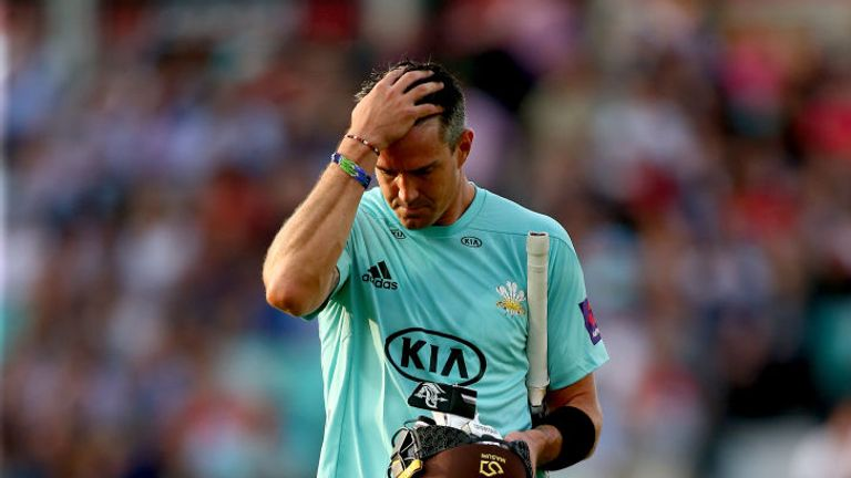 Kevin Pietersen has played just twice for Surrey in the T20 Blast