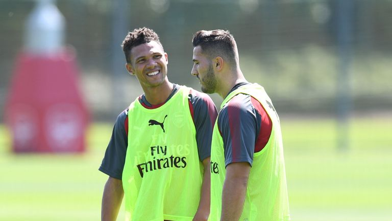 Kieran Gibbs is yet to make a first-team appearance for Arsenal this term