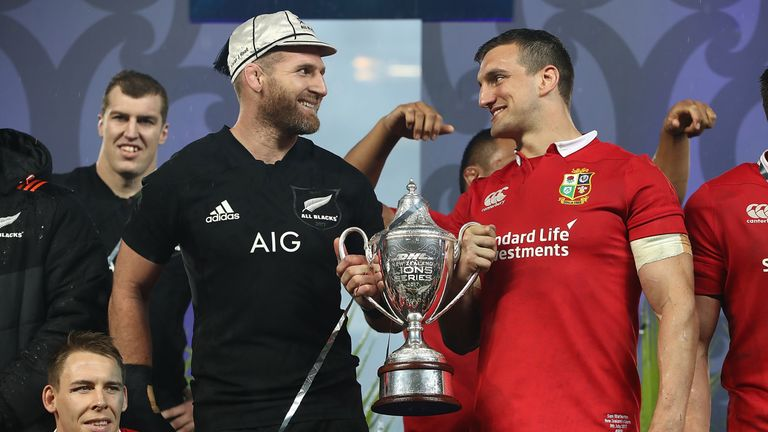 The British and Irish Lions drew their Test series with New Zealand