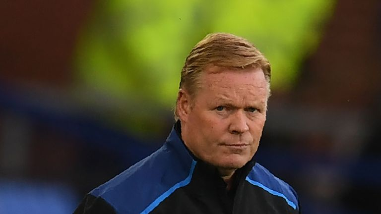 Koeman is hoping his side can improve on their ball possession in the coming weeks