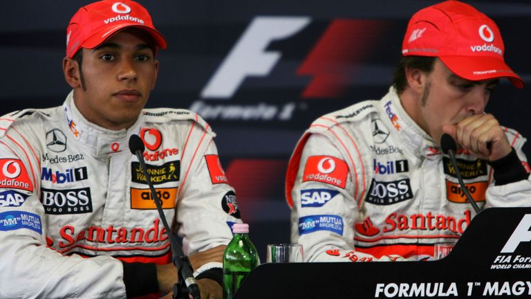 The post-qualifying conference was tense as both drivers defended their actions