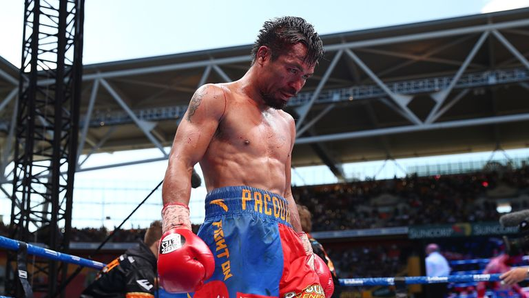 Pacquiao has admitted his career could be coming to an end