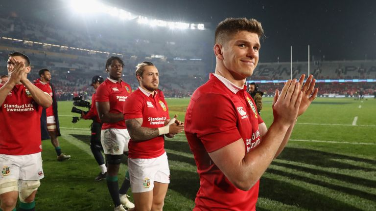 Owen Farrell excelled for the Lions on their tour of New Zealand in the summer