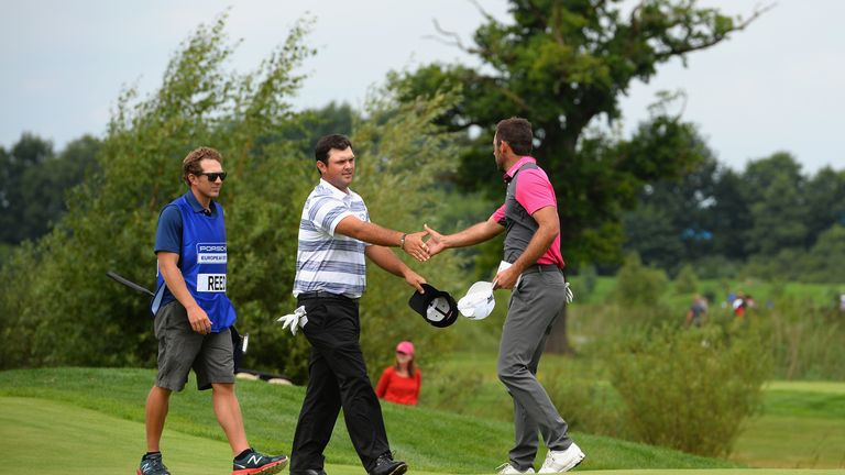 Patrick Reed in the mix as Richard McEvoy shares European Open lead