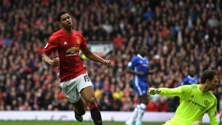 Redknapp has advised Marcus Rashford to 'embrace the challenge' posed by Lukaku's arrival