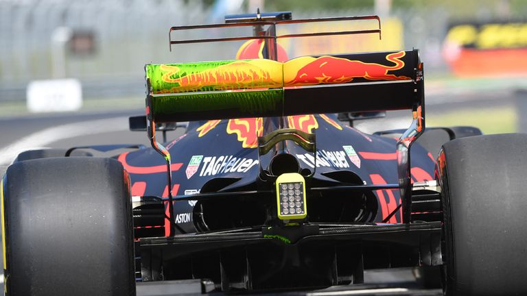 Ricciardo best in practice for Hungarian GP