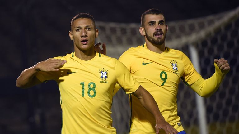 Watford's Richarlison has already represented Brazil at Under-20 level