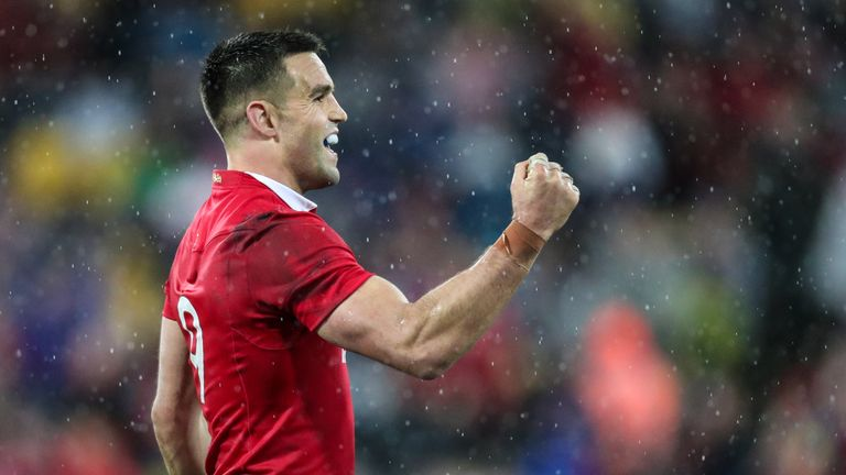 Conor Murray scored his fourth try against New Zealand as the Lions levelled the series