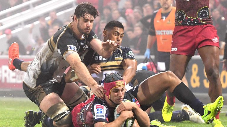 The Brumbies topped the Australian conference despite losing nine of their 15 games
