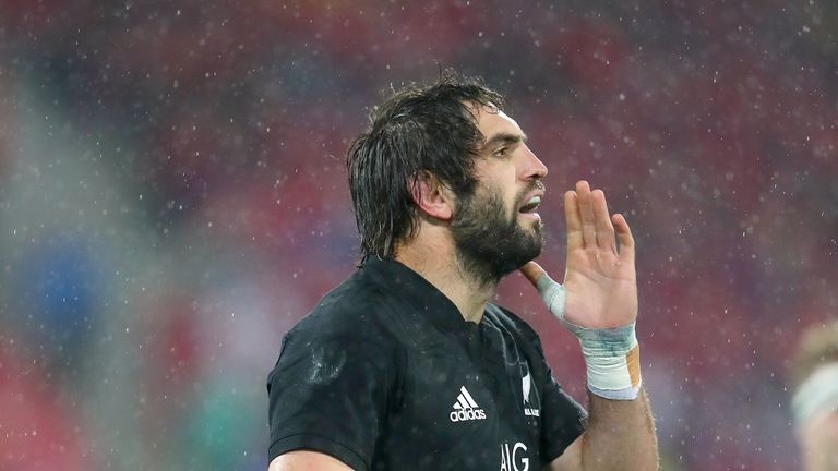 Sam Whitelock was solid in defence and the set piece