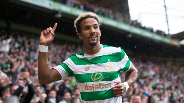 Celtic's Scott Sinclair has notched ten goals in all competitions so far in 2017/18