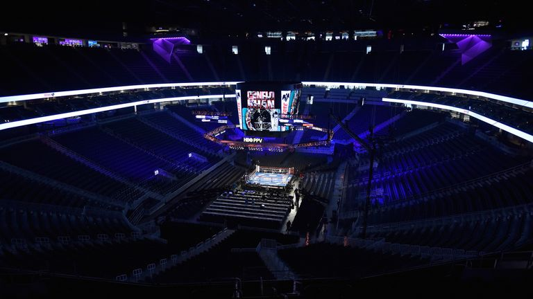 The 20,000 seated T-Mobile Arena will stage Mayweather-McGregor this weekend
